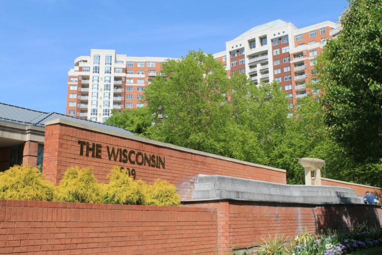 The Wisconsin condominium in North Bethesda
