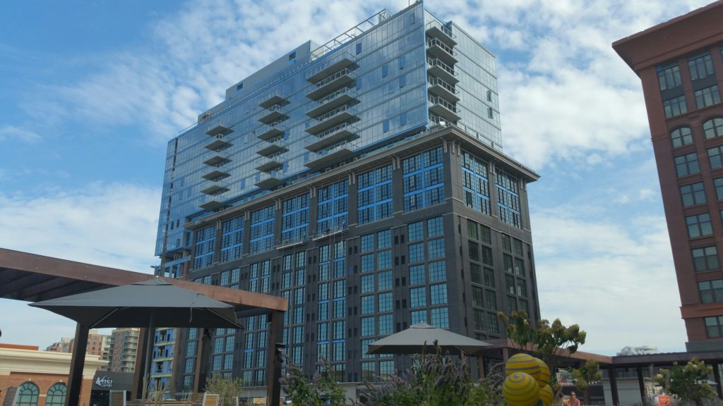 930 Rose condominium building at Pike and Rose in North Bethesda