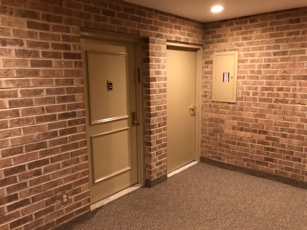 hallway in Georgetown Village