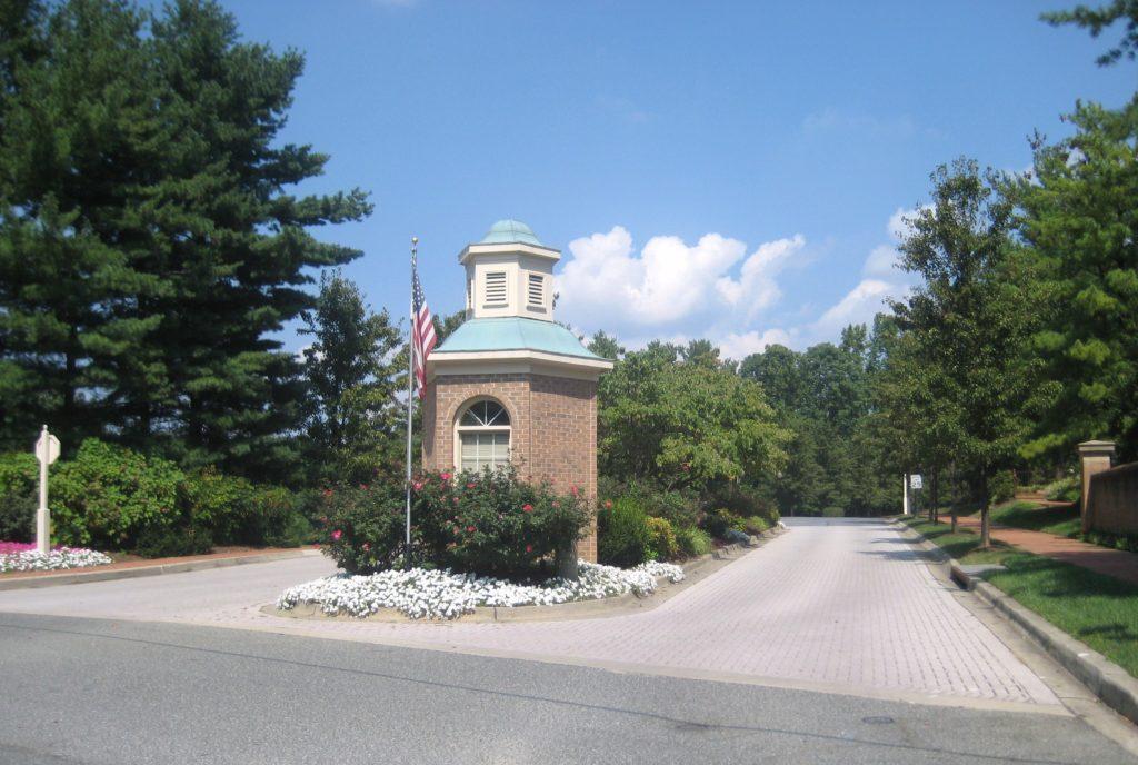 Tuckerman Station entrance