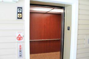 The Fitz condominium elevator